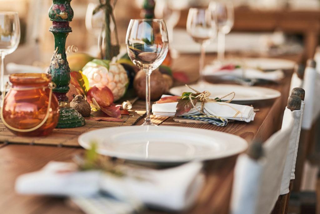 Festa cena in casa tra amici
